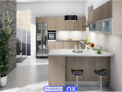 Tủ bếp nhựa cao cấp BNX07